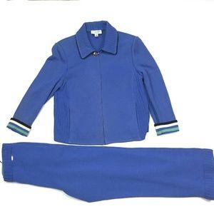 St. John Sport by Marie Gray 2-Piece Knit Suit P